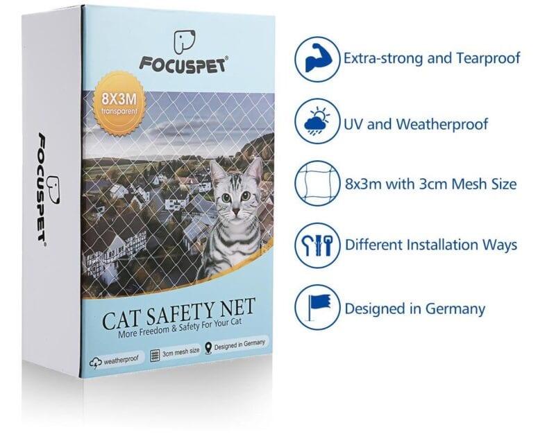 focuspet cat safety net